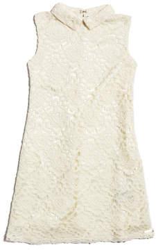 GUESS Sleeveless Lace Dress (7-16)