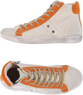 Leather Crown Sneakers