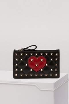 Valentino Spike Heart purse