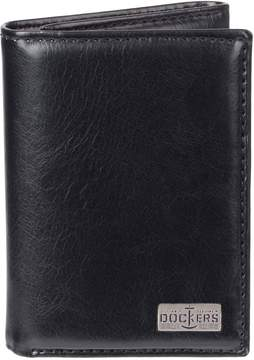 Dockers Men's RFID-Blocking Leather Extra Capacity Trifold Wallet