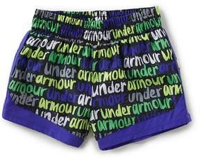 Under Armour Little Girls 2T-6X Brushmark Run Shorts