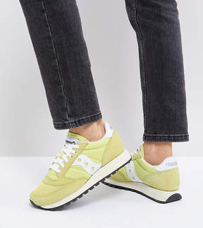Saucony Jazz Original Sneakers In Yellow
