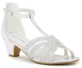 Stuart Weitzman Vernay Glittery Heeled Sandal (Little Kid & Big Kid)