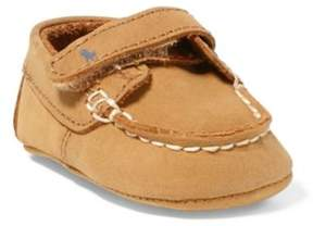 Ralph Lauren Captain Leather Loafer Tan 0 (0-6Wks)