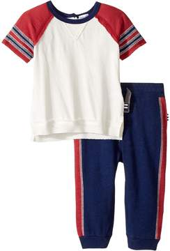 Splendid Littles Raglan Tee and Pants Set (Infant)
