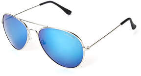 Tommy Hilfiger Silver-Tone Tony Aviator Sunglasses