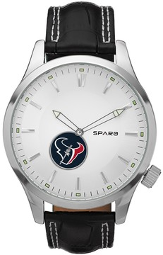 Icon Eyewear Sparo Watch - Men's Houston Texans Leather