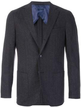 Barba classic fitted blazer