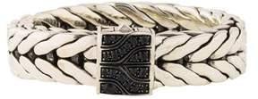John Hardy Sapphire Classic Chain Rectangular Bracelet