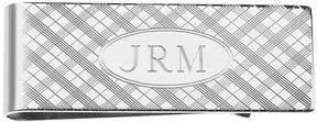 Asstd National Brand Personalized Plaid Pattern Money Clip