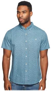 VISSLA Mandurah Short Sleeve Printed Woven Top Men's Clothing