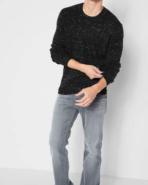 7 For All Mankind Nep Crewneck Sweater in Charcoal