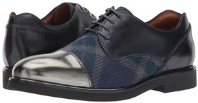 Etro Plaid/Metallic Oxford Men's Shoes