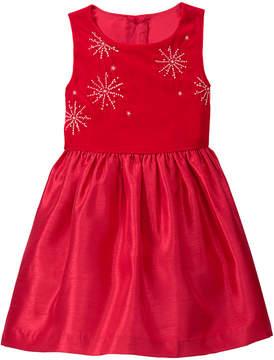 Gymboree Red Velvet Sleeveless Dress - Infant & Toddler