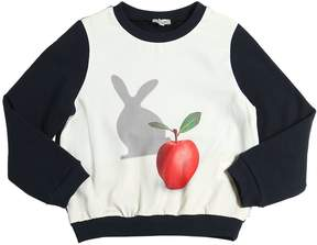Paul Smith Apple Bunny Printed Cotton Sweatshirt
