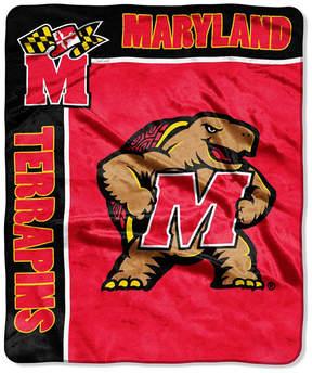 Northwest Company Maryland Terrapins Raschel Rebel Throw Blanket