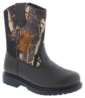 Deer Stags Boys' Tour Water Resistant Pull-on Occupational Boots - Brown