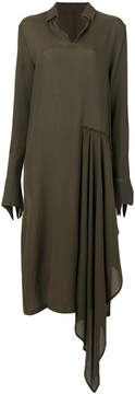 Damir Doma draped side dress