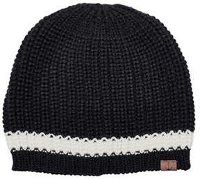 San Diego Hat Company Women's Knit Beanie With Contrast Stripe/anchor Knh3475.