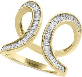 Effy D'Oro by Diamond Baguette Swirl Ring (3/4 ct. t.w.) in 14k Gold