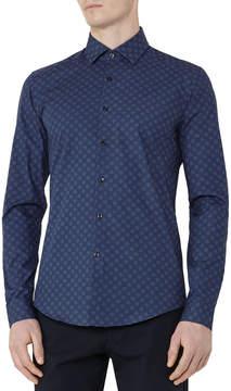 Reiss Lenzan Woven Shirt