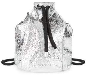 KENDALL + KYLIE Meadow Textured Drawstring Backpack