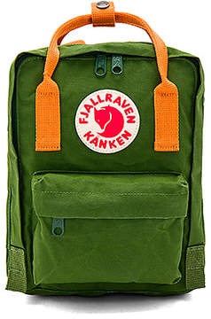 Fjallraven Kanken Mini in Green.