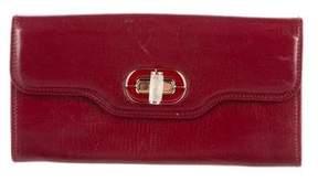 Bvlgari Leather Flap Wallet