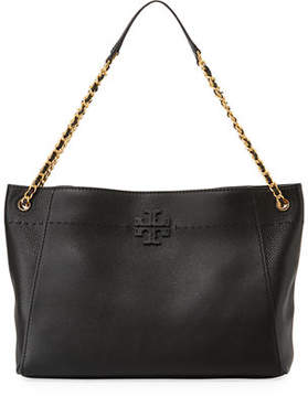 Tory Burch McGraw Woven Chain Slouchy Tote Bag