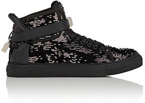 Buscemi Men's 100MM Sequin & Leather Sneakers