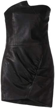 IRO asymmetric fitted dress