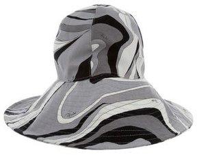 Emilio Pucci Printed Canvas Hat