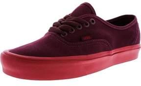 Vans Authentic Lite Pop Sole Port Royale / Red Ankle-High Canvas Skateboarding Shoe - 10M 8.5M