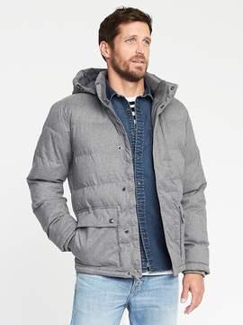 Old Navy Detachable-Hood Puffer Jacket for Men