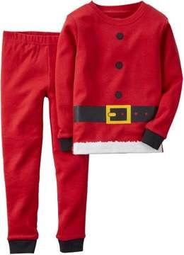 Carter's Baby Boys Santa Suit Pajama Set