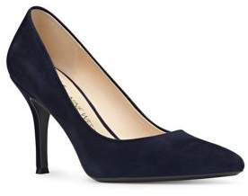 Nine West Suede Pointed Toe Pumps