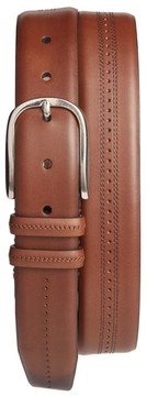 Mezlan Men's Leather Belt