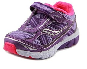 Saucony Baby Ride W Round Toe Leather Walking Shoe.