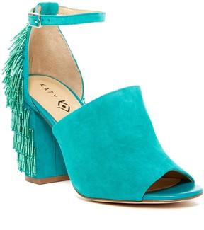 Katy Perry The Mia Beaded Block Heel Sandal