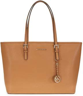 Michael Kors Jet Set Medium Travel Saffiano Leather Tote - Acorn - ONE COLOR - STYLE