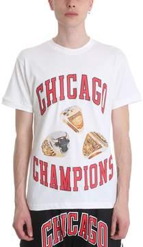 Ih Nom Uh Nit Chicago Rings White Cotton T-shirt