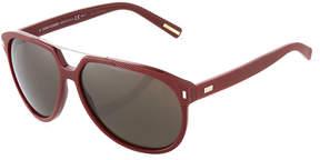 Christian Dior Square Plastic Sunglasses