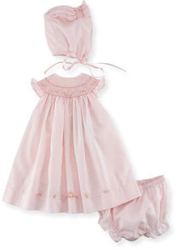 Luli & Me Bishop Dress Layette Set, Size Newborn-9M