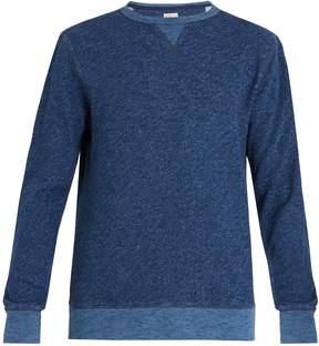 Faherty Crew-neck cotton sweatshirt