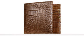 Ralph Lauren Alligator Hipster Wallet