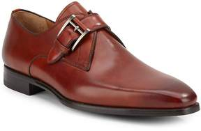 Saks Fifth Avenue by Magnanni Men's Leather Monk-Strap Shoes