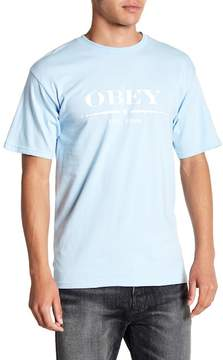 Obey Au Courant Tee