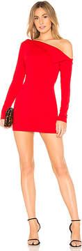 Susana Monaco Off Shoulder Lapel Dress