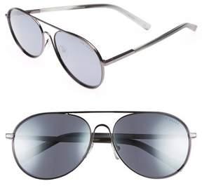 Ted Baker Men's 59Mm Aviator Sunglasses - Dark Gunmetal