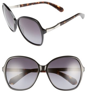 Women's Kate Spade New York Jolyn 58Mm Gradient-Lens Sunglasses - Black